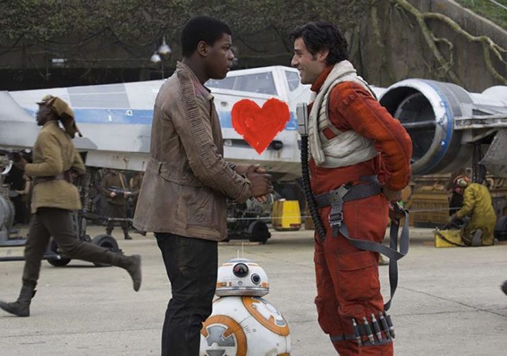 Star Wars universe love healthy The Force Awakens Finn/Poe Stormpilot Shara Bey Kes Dameron Han Solo Princess Leia