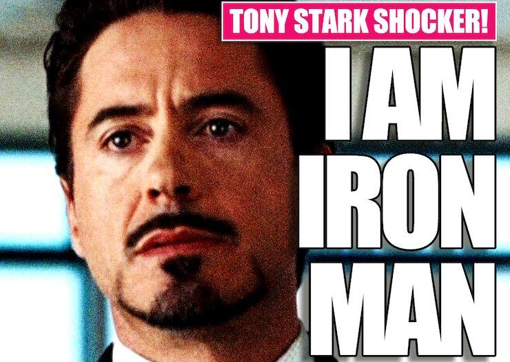 Tony Stark, Iron Man headline