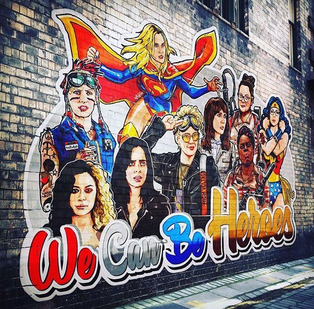 Heroine mural, We Can Be Heroes