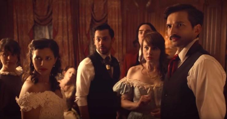Edgar Allan Poe Murder Mystery Dinner Party web series Shipwrecked Comedy
