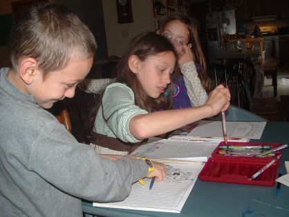 Rubber boot homeschool week #9