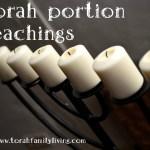 Torah portion teachings