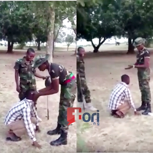 PICTURES) Nigerian Army Punishment - Politics - Nigeria