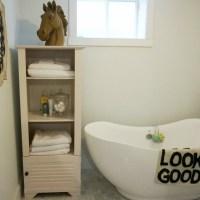 BEHR Designing My Way Bathroom Update