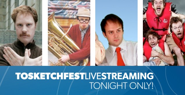 TOsketchfest LIVE STREAMING