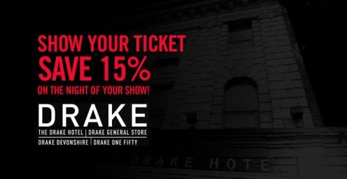 Drake Hotel - Save 15%