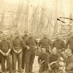 Brixham Fishermen - Regatta dressed 1900's