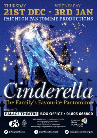 Cinderella - Palace Theatre Paignton @ Palace Theatre | Paignton | England | United Kingdom
