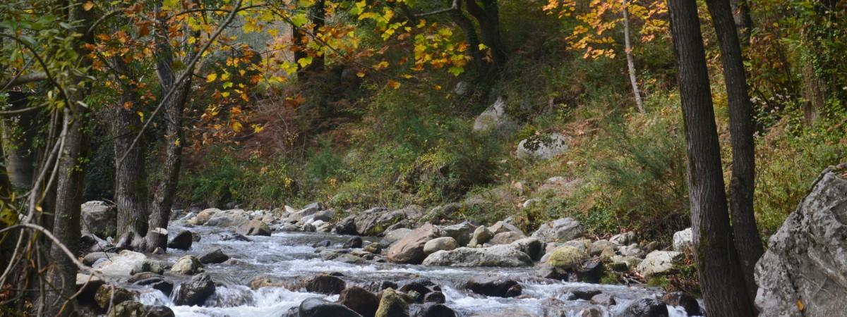 fiume crocchio, valli cupe, sersale