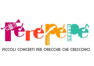 Perepepé spettacolo musicale logo illustrazione di tostoini