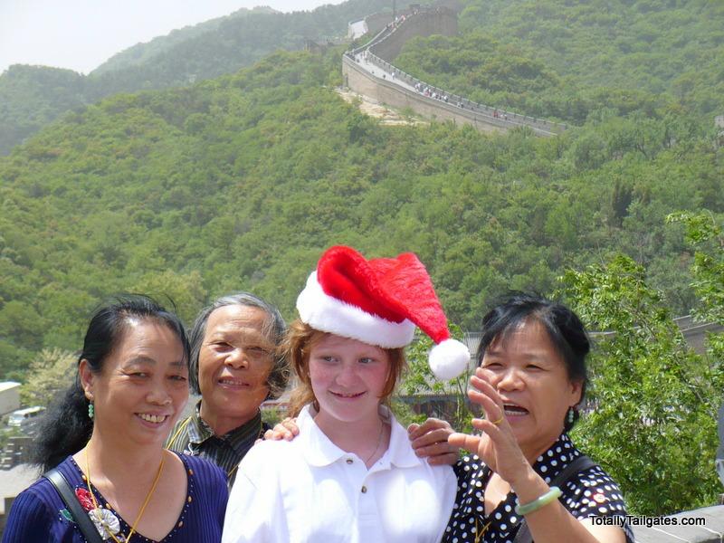 Retouched great wall china