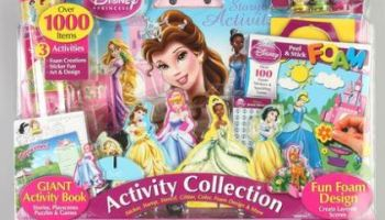 quick giveaway disney princess activity collection