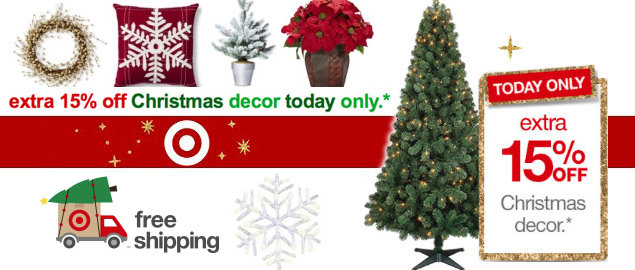 Target: Save Up To 50% Off Artificial Christmas Trees ...
