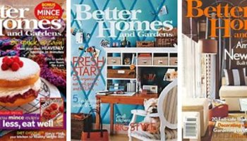 Better Homes And Gardens Magazine 1 Year For 5 TotallyTargetcom