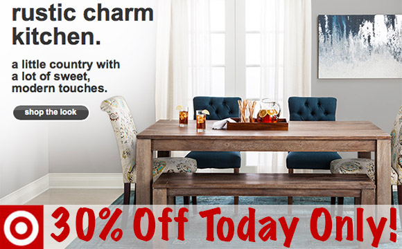 Target 30 Off Select Kitchen Dining Furniture