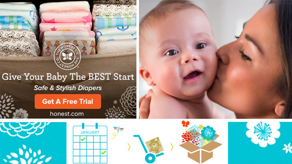Honest Company: FREE Trial Kit Just Pay Shipping | TotallyTarget.com