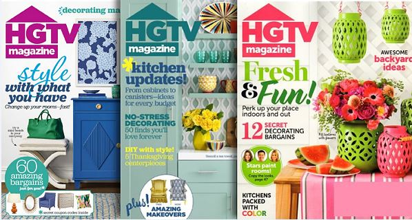 HGTV Magazine: 1-Year Subscription For $12.95 | TotallyTarget.com