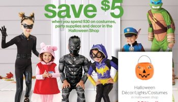 FREE $10 Target Gift Card When You Spend $50 On Halloween Costumes ...