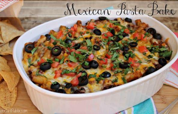 mexican-pasta-bake