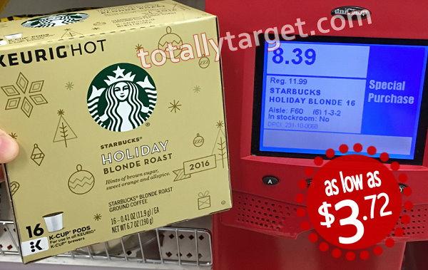 Extra 30% Off Starbucks Holiday K-Cups & Via Coffee ...