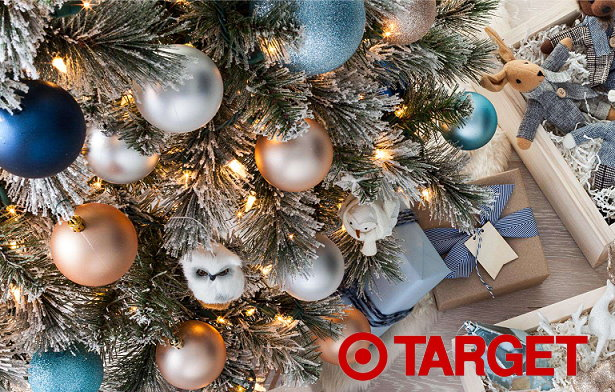 30% Off Artificial Christmas Trees, Lights & Ornaments At Target ...