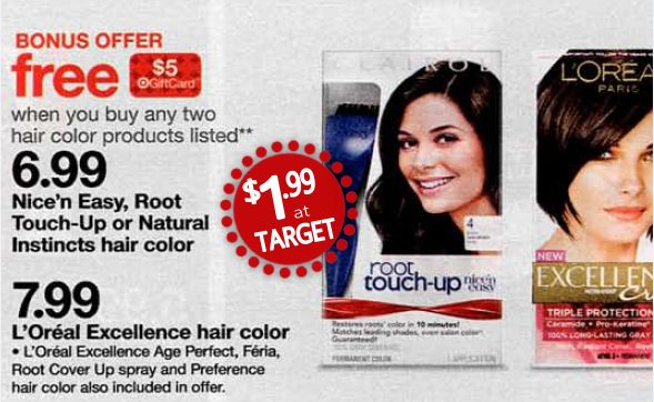 New Clairol Hair Color Coupons = As Low As 94¢ Each ...