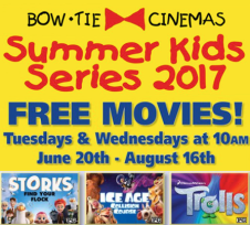 FREE or Inexpensive Summer Movie Deals