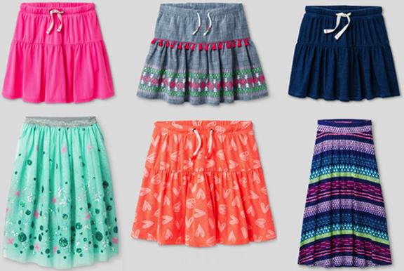 Skirts in Stores