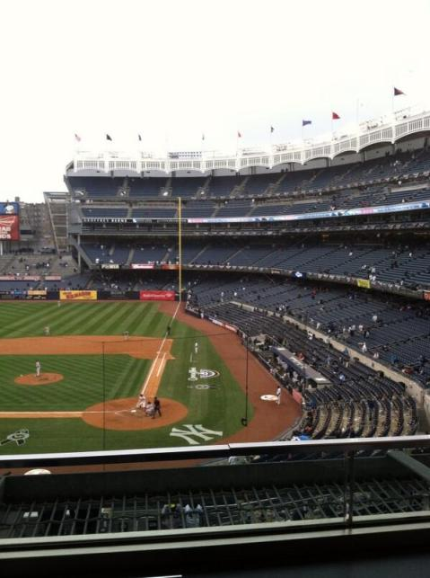 Empty Yankee Stadium 2