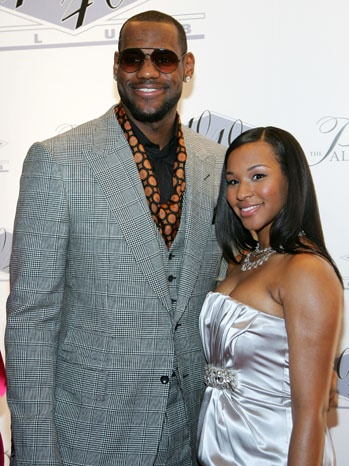 LeBron James Fiance