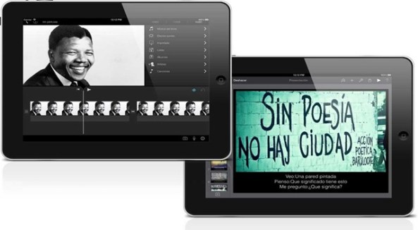 tablet imovie keynote