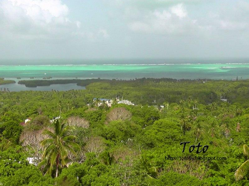 De paseo por el Caribe Colombiano... Pescando en isla de San Andrés.