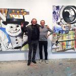 Ricard Akagawa e David Salle-FriezeNY2016