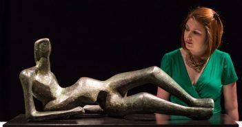 Escultura de Henry Moore, Reclining Figure No. 2