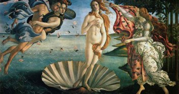 Nascimento da Vênus (c. 1480s), de Sandro Botticelli