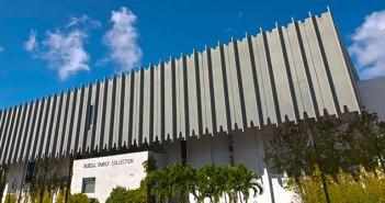 Fachada do prédio atual que abriga o acervo da coleção da Família Rubell