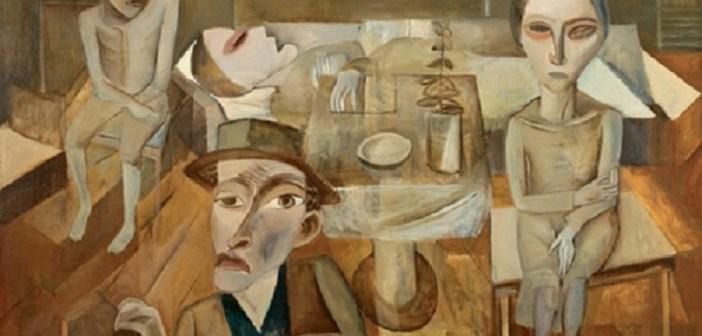 Interior de pobres II, Lasar Segall, 1921.