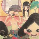 Aya Takano, On a moonlight their teeth painted black, 2004