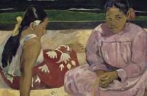 Mulheres do Taiti, de Paul Gauguin CRÉDITO Musée d\'Orsay RMN-Grand Palais (musée d\'Orsay) Hervé Lewandowski