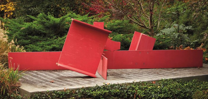 Sir Anthony Caro, London, steel painted red, conceived in 1966, 206 cm long, estimate: £500,000-700,000. © Christie's Images Limited 2017