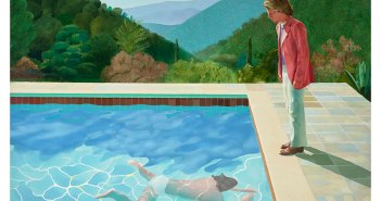 David Hockney, Portrait of an Artist (Pool with Two Figures) 1971. Private Collection © David Hockney.