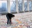 Keith Haring trabalhando no Stedelijk © Keith Haring Foundation
