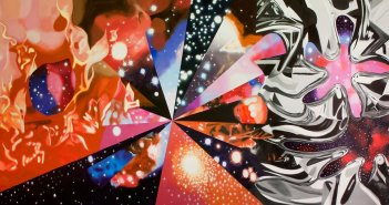 James Rosenquist, The Stowaway Peers Out at the Speed of Light, 2000