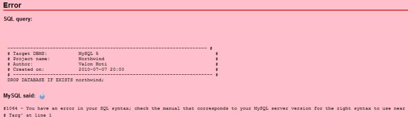 sql_error_byte_order_mark