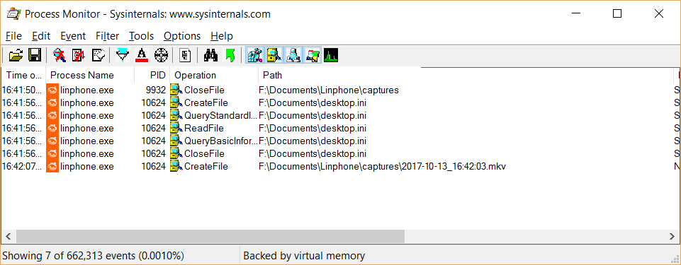 Fixing video recording issues in Linphone v4 1 1 for Windows | ToughDev