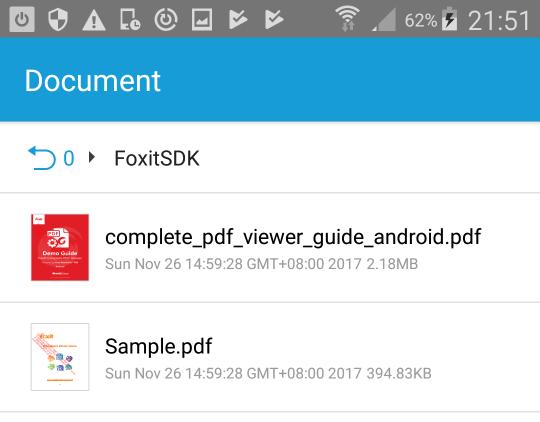 Foxit-MobilePDF-SDK-Demo-App-2