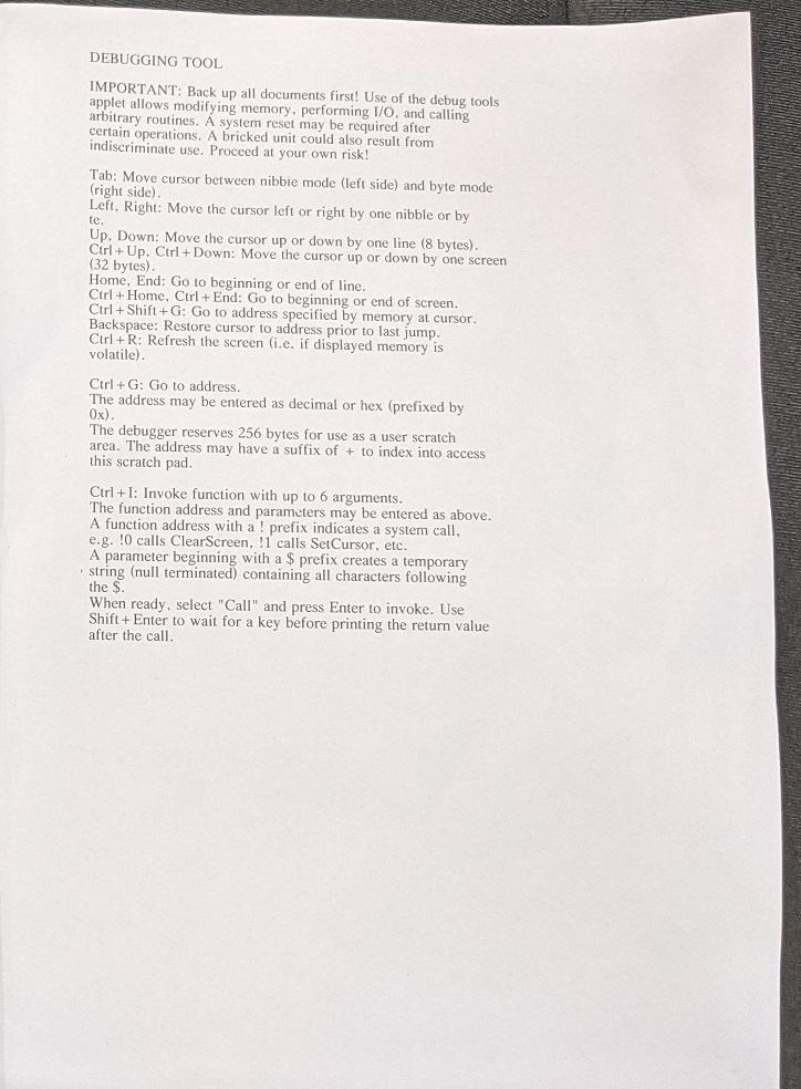 AlphaSmart Neo Improved Printout