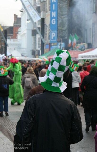 Authentically Irish, of course.