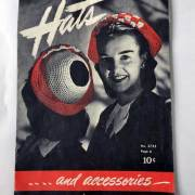 vintage hats and accessories crochet pattern booklet