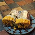 Burritos are substantial